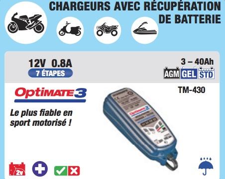 Capture décran 2020 12 10 à 13.54.35 copie - Choisir son chargeur de batterie moto : pourquoi le TECMATE OPTIMATE 3
