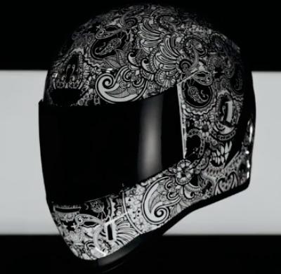 casque moto icon - Sélection : casque icon Airform Chantilly
